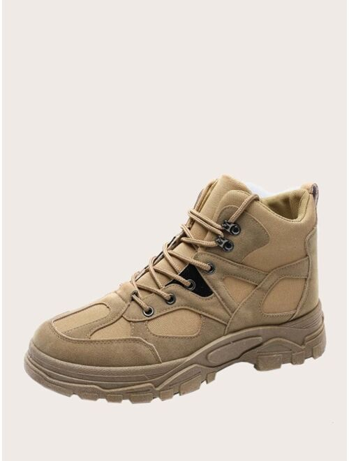 Shein Men Lace-up Front Hiking Boots
