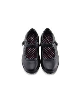 Jabasic Girl's Mary Jane School Uniform Shoes