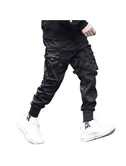 Mens Harem Cargo Pants 2020 Hip Hop Sweatpants Male Tatical Casual Streetwear Joggers Pants Trousers