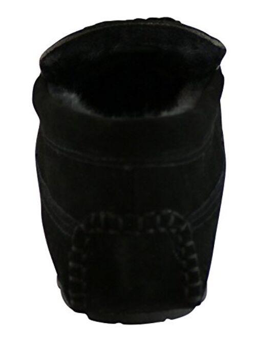 Tamarac by Slippers International Men's Venetian Lined Driving Mocassin Slipper