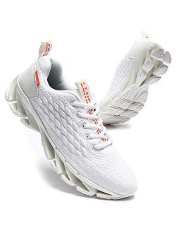 Mens Blade Sneakers Athletic Running Shoes Non Slip Walking Fashion Tennis Shoes