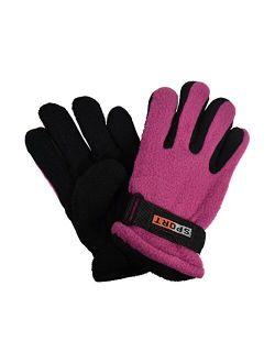 Warm Thermal Polar Fleece Gloves for Children