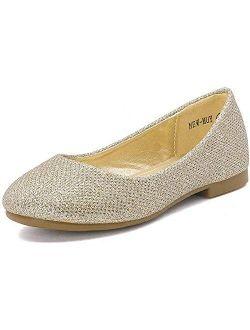 Muy Girls Dress Shoes Slip On Ballerina Flats