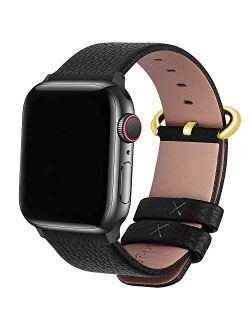 Compatible Apple Watch Band 38mm 40mm 42mm 44mm Leather Compatible Iwatch Band/strap Compatible Apple Watch Se & Series 6 5 4 3 2 1