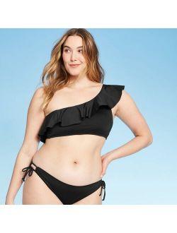 Women's Ruffle One Shoulder Bikini Top - Kona Sol™