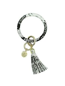Key Bracelet for Women - Keyring Bracelets Wristlet Keychain, Great for Party, Shopping Dating and Daily Use