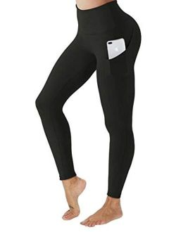 Anti Cellulite Leggings Sexy Workout Pockets Yoga Pants Women's Tummy Control High Waisted Sport Tight