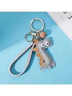 MUAMAX Dinosaur Key Chains for Women Girl Girlfriend,Bag charm,Keychain for Car Keys,Gift for Her