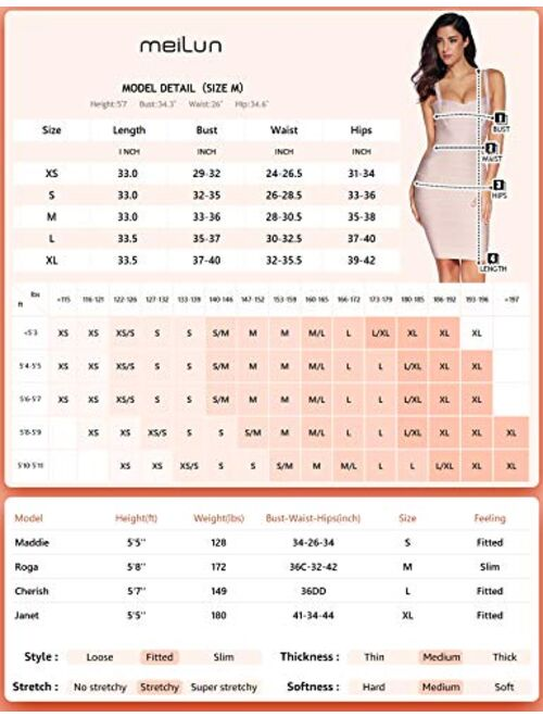 meilun Womens Fringe Off Shoulder Bandage Bodycon Party Celebrity Dress