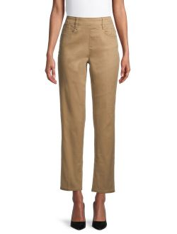Women's Woven Pull On Pant
