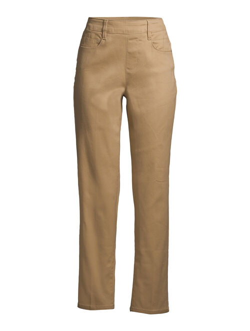 Time and Tru Women's Woven Pull on Pant