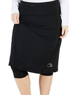 Chic Women's Tennis Skirt | Golf Skirt | Athletic Skirt w/Knee Length Leggings
