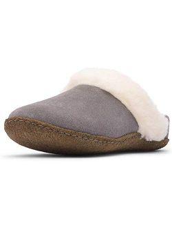 Women's Nakiska Slides Ii Slippers, Quarry/natural, Grey, 5 Medium Us