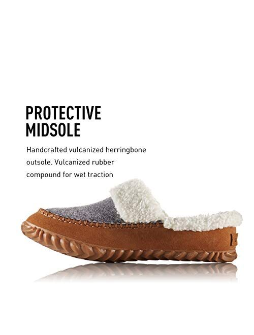 SOREL - Women's Out N About Slide Slipper with Faux Fur Lining