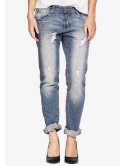 Ellos Women's Plus Size Boyfriend Jeans Jeans
