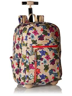 Women's Lighten Up Rolling Backpack, Pop Art, One Size