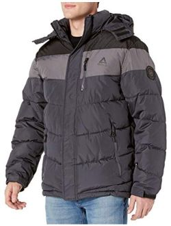 Men's Heavy Weight Hooded Bubble Jacket Coat