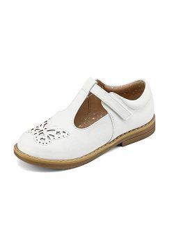 Girls Ballerina Dress Shoes T-strap Mary Jane Flats
