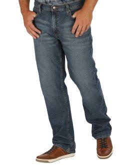 Men's And Big Men's Athletic Fit Jeans With Flex