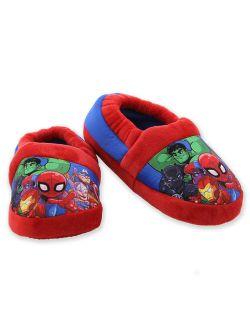 Super Hero Adventures Avengers Boy's Toddler Plush Aline Slippers Avf227y