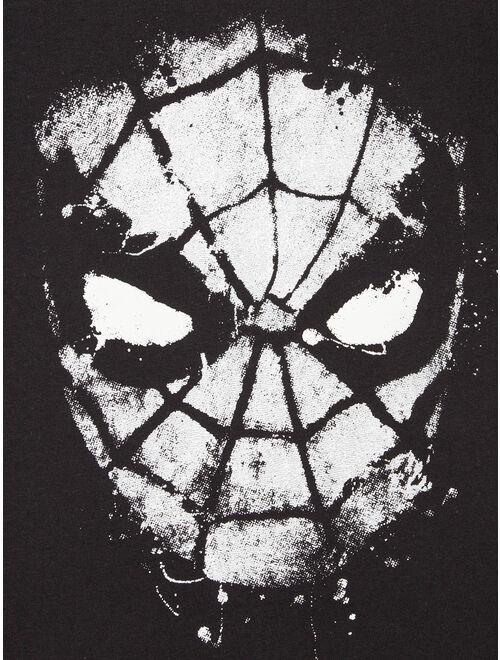 Marvel Spider-Man Boys Graffiti & Classic Comic Graphic T-Shirts 2 Pack Sizes 4-18