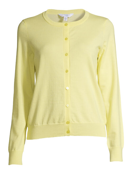 Time and Tru Women's Everyday Cardigan