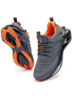 wanhee Men's Sneakers Sport Running Athletic Tennis Walking Shoes