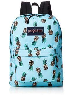 Superbreak Corduroy Pineapple Printed Backpack One Size