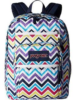 Big Student Multi Saucy Chevron Backpack