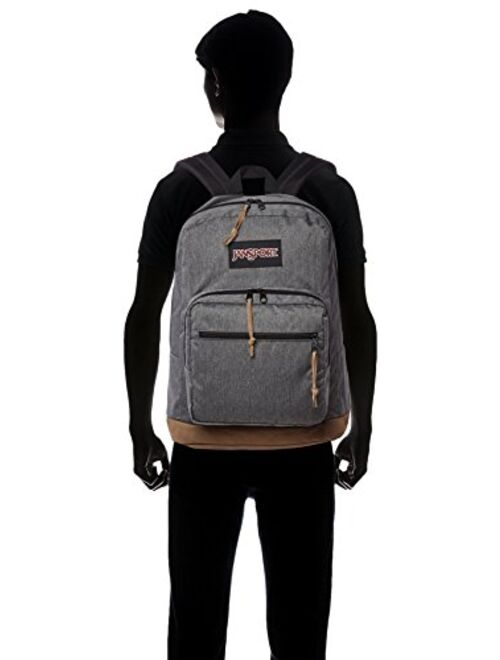 JanSport Right Pack Digital Edition Laptop Backpack - Grey Heathered Poly