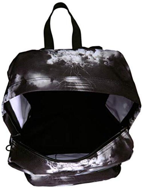 JanSport Black Label Superbreak Backpack - Lightweight School Bag   Lightning Clouds
