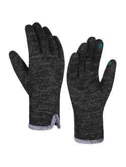 Gloves For Women Winter Touchscreen Warm Soft Comfortable Elastic Fluff Lined Texting Glove For Traveling, Working