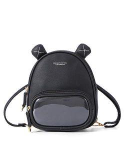 Mini Backpack Purse For Women, Girls Small Backpack Purses Crossbody Bag