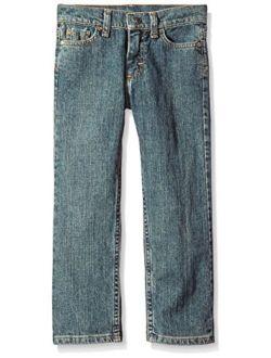 Authentics Boys' Big Straight Fit Stretch Jean