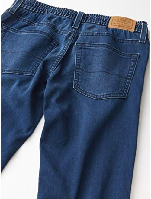 Signature by Levi Strauss & Co. Gold Label Boys Pull-On Slim Fit Jean