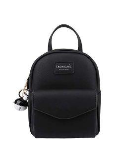 Mini Backpack Purse, Women Small Backpacks Girls Keychain Crossbody Bag