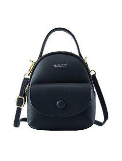 Cute Tiny Backpack, Women Mini Backpack Purse, Girls Small Crossbody Bag
