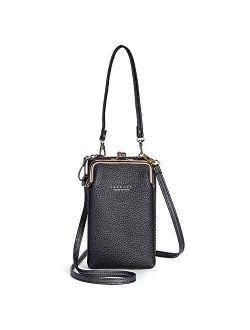 Women Small Crossbody Bags Shoulder Phone Purse Zipper Card Holder Wallet