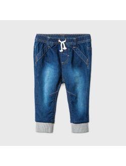 Long Jogger Jeans - Cat & Jack™ Dark Denim
