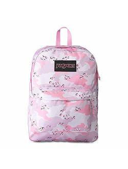 Black Label Superbreak Backpack - Lightweight School Bag - Camo Crush