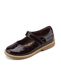 Girls Ballerina Flats Mary Jane Dress Shoes