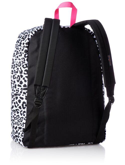 JanSport JS00T50133J : Unisex SuperBreak White Leopard Backpack