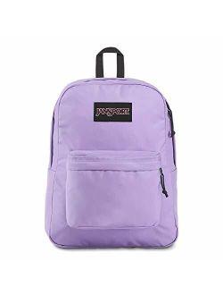 Black Label Superbreak Backpack - Lightweight School Bag - Purple Dawn