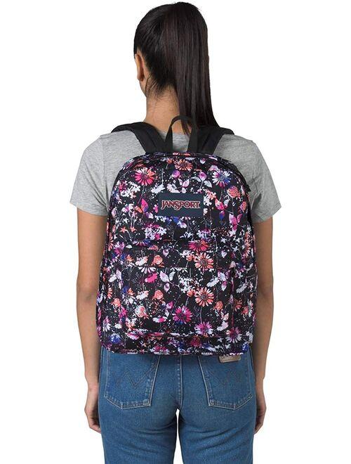 JanSport Superbreak Chroma Floral Backpack School Bag