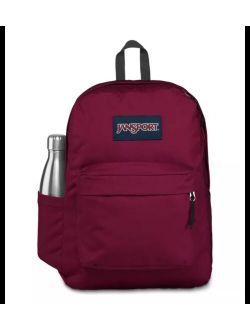 Superbreak Russet Red Backpack - Dark Red - One Size Backpack School Bag