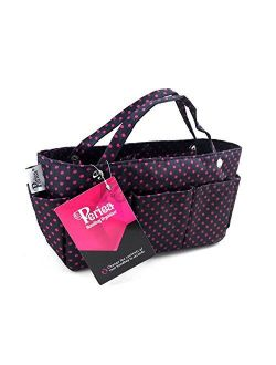 Handbag Purse Organizer, 14 Compartments - Tilly (several Colors & Styles Available)