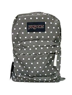 Classic Superbreak Backpack - Shady Grey / White Dots