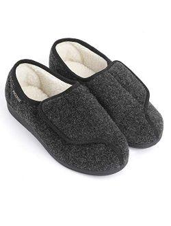 Men's Geri-active Indoor Outdoor Adjustable Slipper
