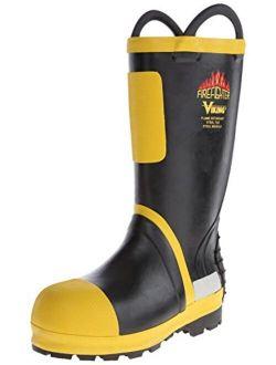 Viking Footwear Firefighter Felt Lined Waterproof FR Boot