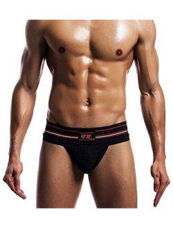 Men's Jockstrap Underwear Workout Jock Strap Athletic Supporter
